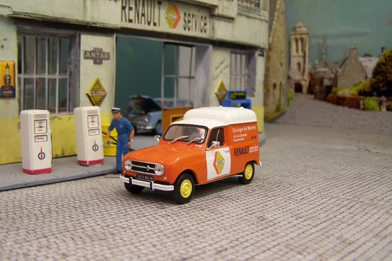 Passion renault 4 auto plus hachette page 24 presse mod lisme et mod les r duits - Garage renault douarnenez ...